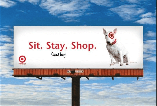 Call-to-Action on a Target Billboard Advertisement – IWCO Direct